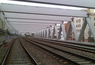 Cubierta Acceso Ferroviario de la Estación Sants